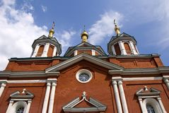Churches and monasteries of Kolomna Royalty Free Stock Photography