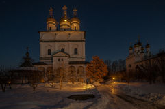 Churches and monasteries of Russia Royalty Free Stock Images