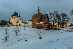Churches and monasteries of Russia Royalty Free Stock Image
