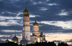 Churches of Moscow Kremlin Russia Royalty Free Stock Photography