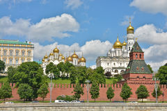 Churches Of The Moscow Kremlin. Stock Photo