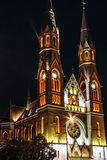 Churches night 6 royalty free stock images