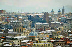 Churches of rome Royalty Free Stock Photo