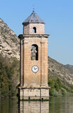 Churches ruins of the lost village Fayon, spain Royalty Free Stock Photography