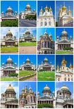 Churches in Saint Petersburg Royalty Free Stock Images
