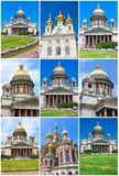 Churches in Saint Petersburg Stock Image