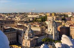 Churches Santa Maria di Loreto and Santissimo Nome di Maria Royalty Free Stock Image