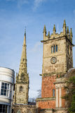 Churches in Shrewsbury, England Stock Photography