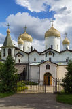 Churches of St. Philip and St. Nicholas, Veliky Novgorod Royalty Free Stock Photography