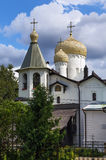 Churches of St. Philip and St. Nicholas, Veliky Novgorod Royalty Free Stock Image