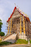 Churches Thailand under construction. Royalty Free Stock Image