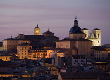Churches of Toledo at Dusk Royalty Free Stock Image