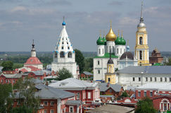 Churches in the town of Kolomna, Russia Stock Image