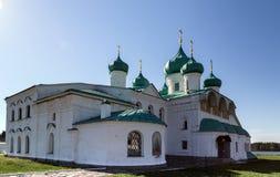 Churches of the Transfiguration St. Alexander of Svir Monastery Stock Photo