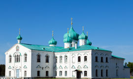Churches of the Transfiguration St. Alexander of Svir Monastery Royalty Free Stock Photography