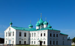 Churches of the Transfiguration St. Alexander of Svir Monastery Royalty Free Stock Images