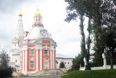 Churches of Trinity Sergius Lavra Royalty Free Stock Images