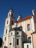 Churches of Vilnius Stock Photos