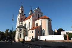 Churches of Vilnius Royalty Free Stock Image