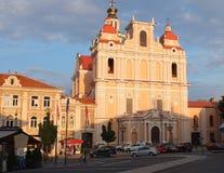 Churches of Vilnius Stock Images