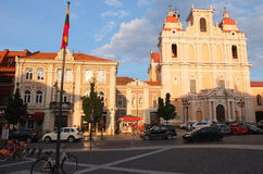 Churches of Vilnius Royalty Free Stock Photos