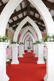 Churches and wedding. The white Churches for wedding Stock Image