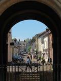 Churchgate Street Through The Arch Royalty Free Stock Photos