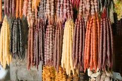 Churchhela Φρούτα και πυκνωμένος καρύδια χυμός Στοκ φωτογραφία με δικαίωμα ελεύθερης χρήσης