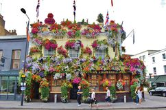 The Churchill Arms, London Stock Photography