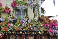 The Churchill Arms, London Royalty Free Stock Photos