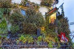 The Churchill Arms Pub Restaurant Kensington London England Stock Photos