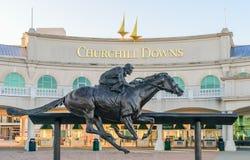 Churchill Downs Entrance Royalty Free Stock Image