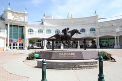 Churchill Downs. Front entrance to Churchill Downs, the venue for the Kentucky Derby royalty free stock image