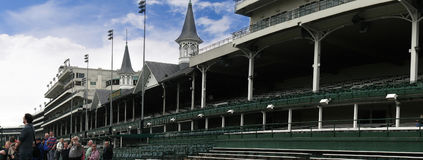 Churchill Downs hem av det Kentucky derbyt i Louisville USA Royaltyfri Foto
