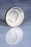 Churchill mynt från 1965. Royaltyfri Bild