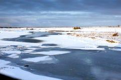 churchill tundra Στοκ φωτογραφίες με δικαίωμα ελεύθερης χρήσης