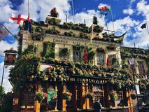 Churchill Zbroi pub Zdjęcie Stock