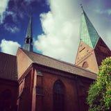 День Churching Стоковое Изображение