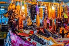 Churchkhela al bazar, Kutaisi, Georgia Fotografia Stock