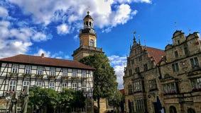 Churchplace Germany. Historic place sunny Germany stock image