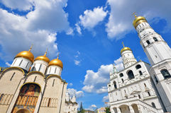 Churchs de Moscou, Rússia Foto de Stock Royalty Free