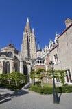 Churchtower of Bruges, Belgium Stock Image