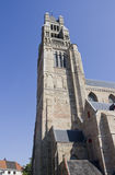 Churchtower of Bruges, Belgium Royalty Free Stock Images