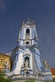 Churchtower in Duernstein royalty free stock image