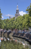 Churchtower of Gouda, Holland Royalty Free Stock Images
