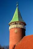 Churchtower in Luttelgeest, Flevoland, Netherlands Stock Photos