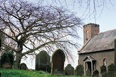 Churchyard Royalty Free Stock Photos