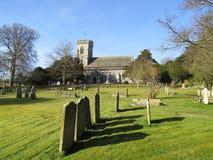 churchyard arkivbild