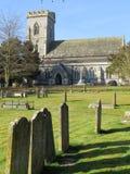 churchyard royaltyfria bilder
