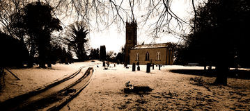 Churchyard Royalty Free Stock Photo